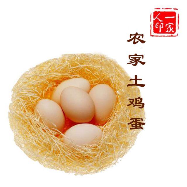 一家人生态农场土鸡蛋 40枚