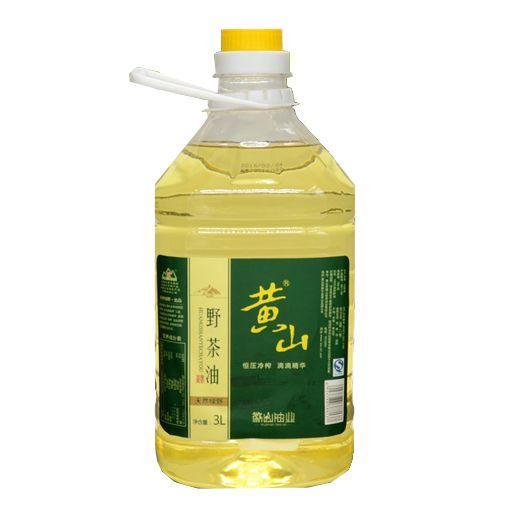 黄山野生山茶油3L  物理压榨无添加 有机木本植物油