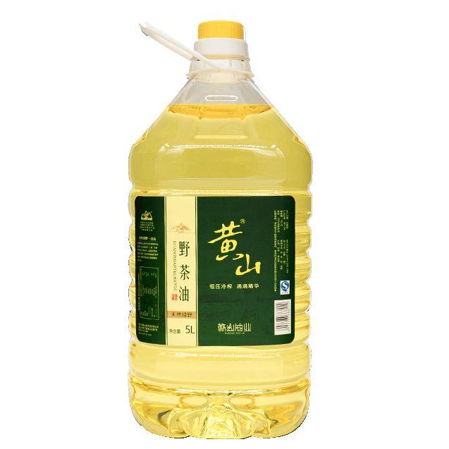黄山野茶油 无添加野生山茶油有机植物油5L