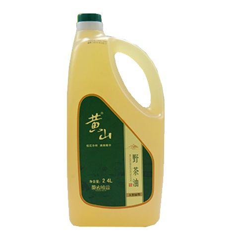黄山野茶油2400ml 纯正山茶油茶籽油  低温冷榨