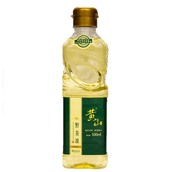 黄山野生山茶油500ml 物理压榨绿色有机植物油天然茶籽油小瓶装